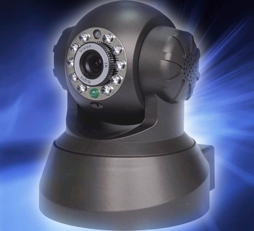 PT Dome IP Camera PK-F980 black