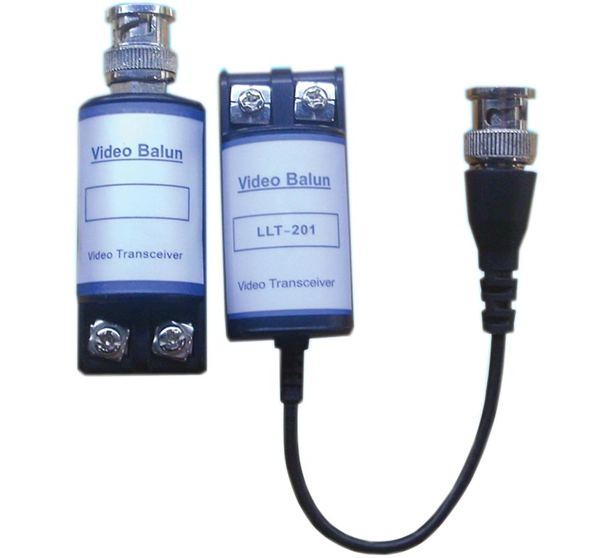 Passive one-way video balun PKVB-201